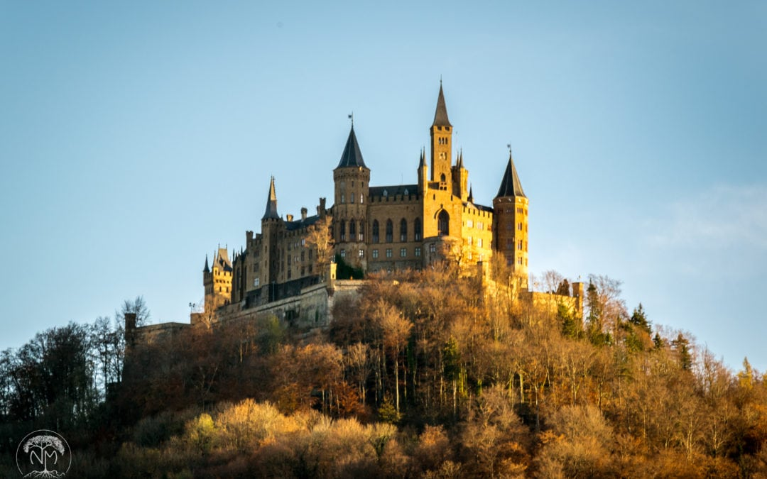 Hiking to Hohenzollern Castle