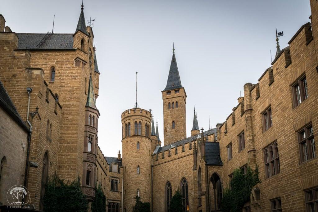 Inside Hohenzollern Castle
