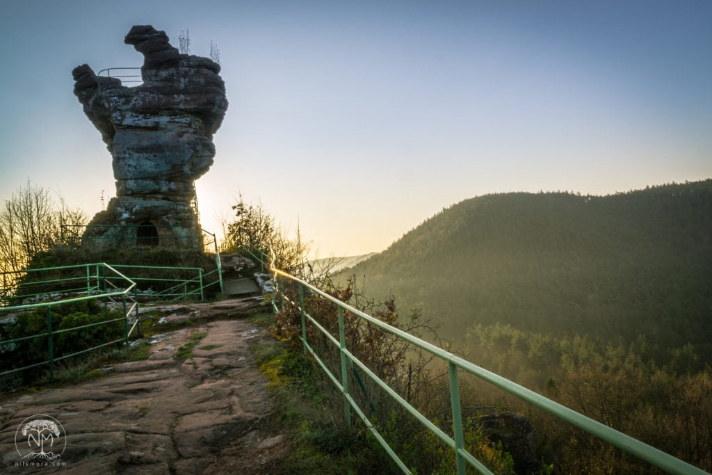 Exploring the Palatinate Forest: Burg Drachenfels