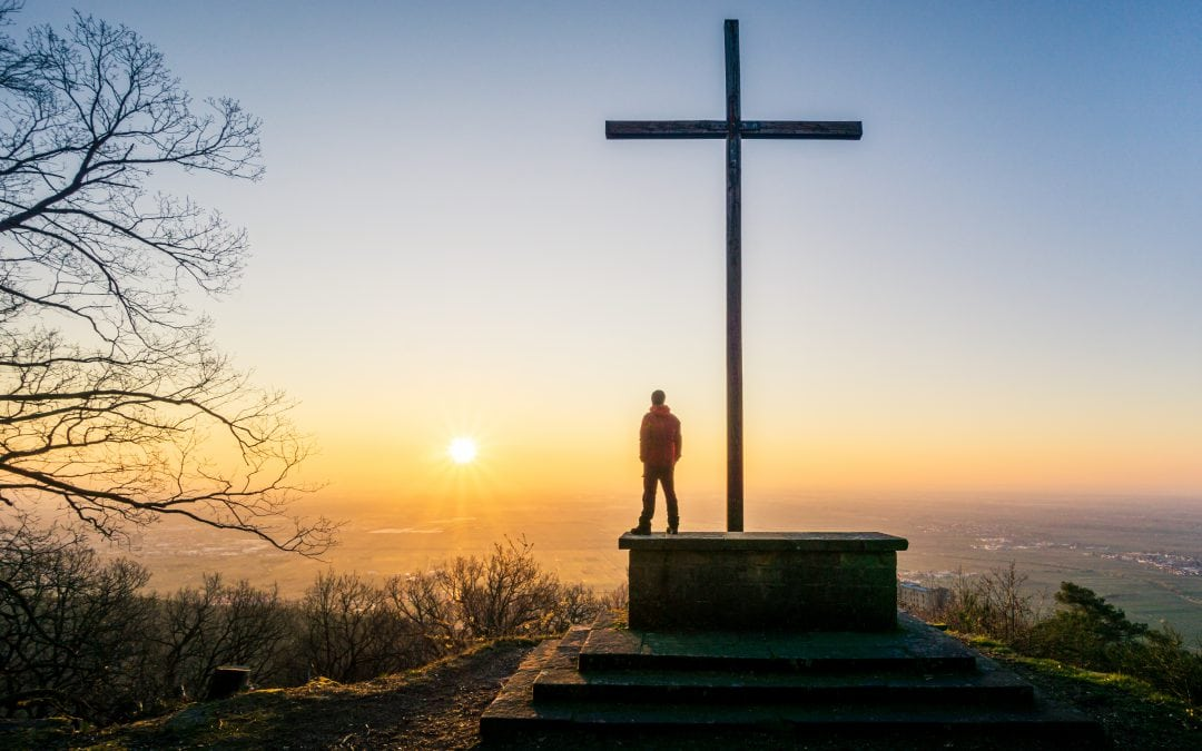 Sunrise at the Sühnekreuz