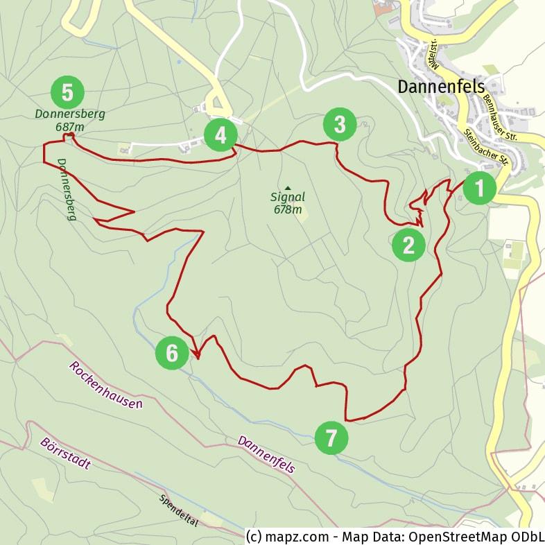 Photo-Hike around Donnersberg Mountain