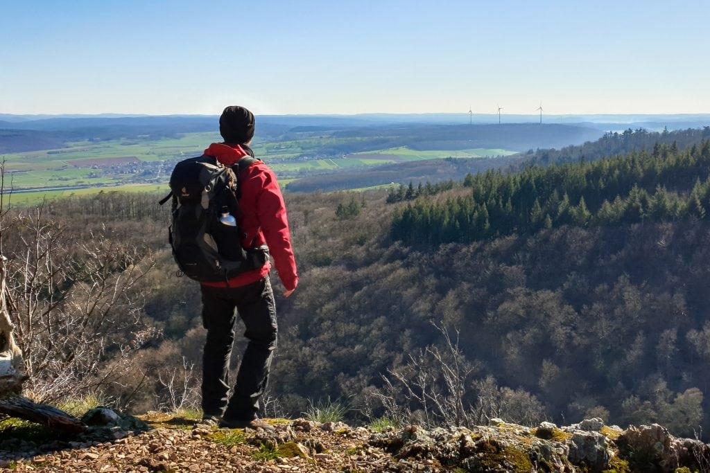 Viewpoint at Reißender Fels
