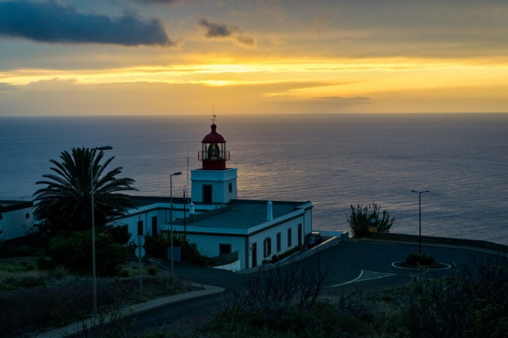 Lighthouse at Ponta do Pargo
