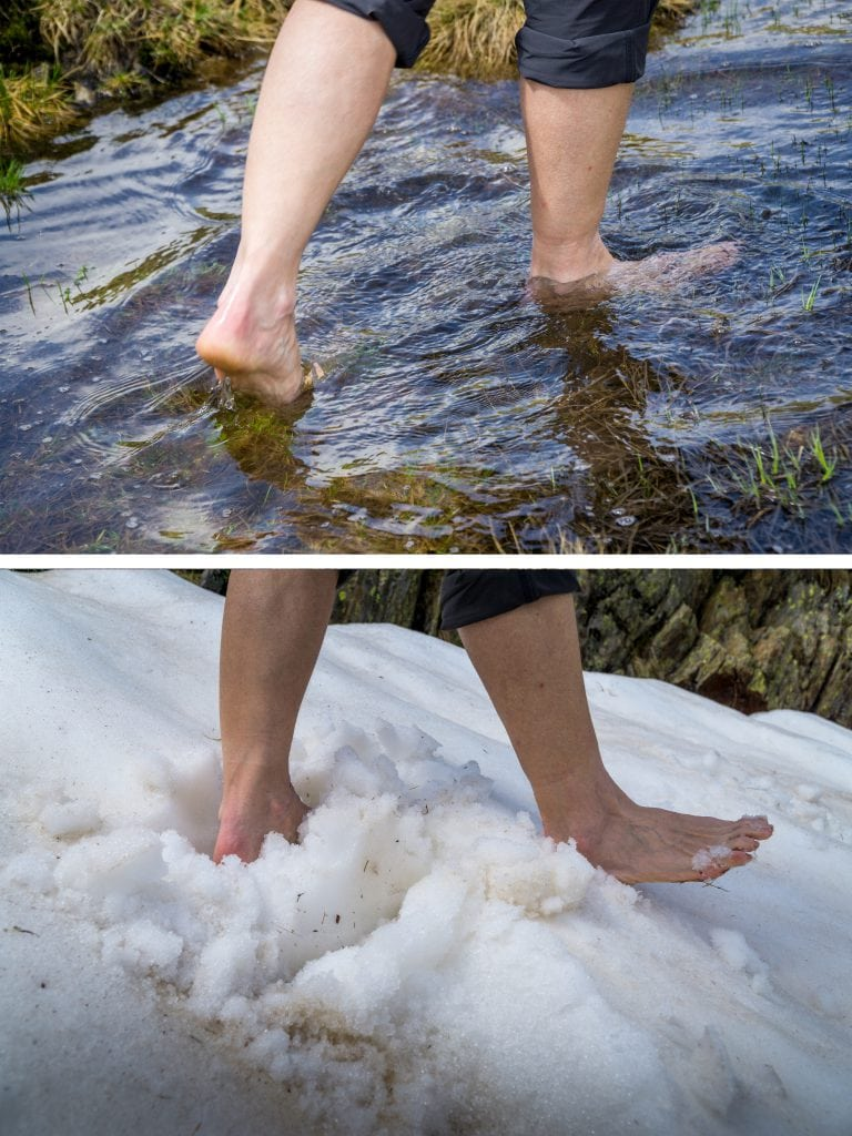 barefoot path