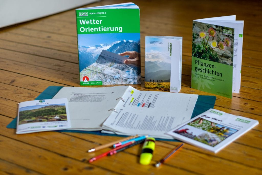 Theoretical knowledge for a trekking guide